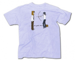 T Shirts Bow And Arrow Postal Service