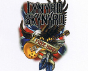 176f41a9 All Bands > Lynyrd Skynyrd / T-shirts · Illustrated Eagle