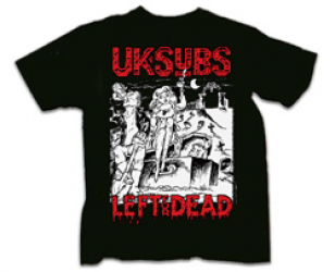 UK Subs Left For Dead - Alive In Holland '86