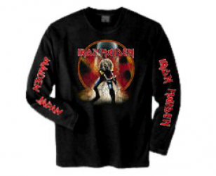 Longsleeves MAIDEN JAPAN LONG SLEEVE T SHIRT Iron Maiden