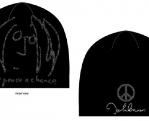 Give Peace a Chance Discharge beanie