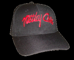 Motley Crue Embroidered Logo
