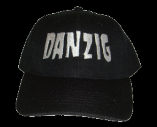 Danzig Embroidered Logo Hat