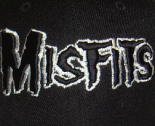 Misfits Embroidered Logo Hat
