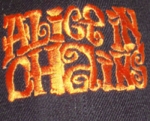 Alice In Chains Embroidered Logo